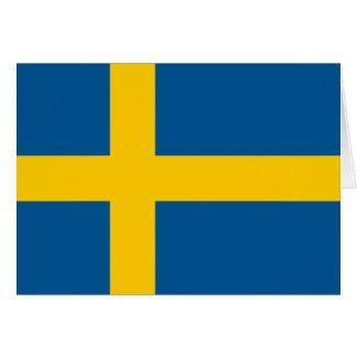 Sweden Flag Cards