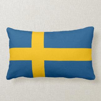 Sweden Flag Throw Pillows