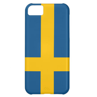 Sweden Flag iPhone 5 case (high quality)