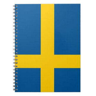 Sweden Flag Notebook