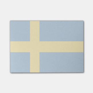 Sweden Flag Post-it Notes