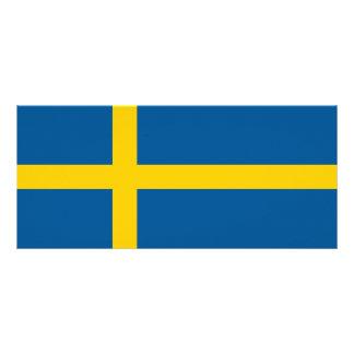 Sweden Flag Rack Card