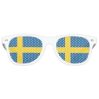 Sweden Flag Retro Sunglasses