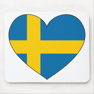 Sweden Flag Simple Mouse Pad