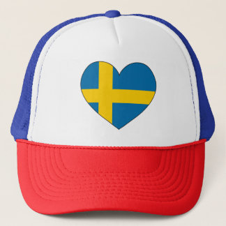 Sweden Flag Simple Trucker Hat