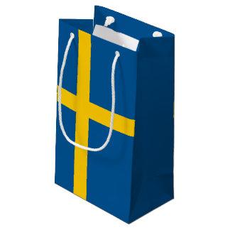 Sweden Flag Small Gift Bag