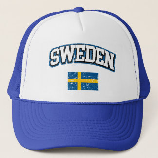 Sweden Flag Trucker Hat