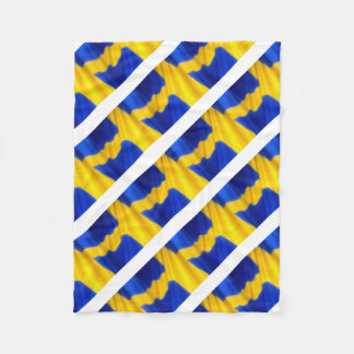 SWEDEN FLEECE BLANKET