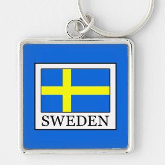 Sweden Key Ring