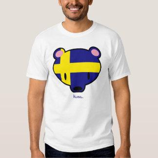 Sweden kuma-chan tshirt