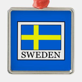Sweden Metal Ornament