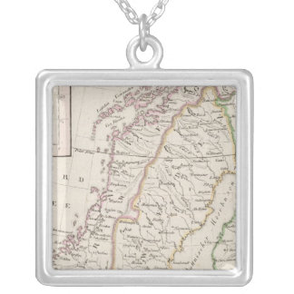Sweden, Norway, Iceland Silver Plated Necklace
