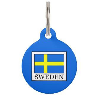 Sweden Pet ID Tag