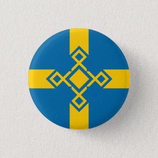 Sweden Rune Cross Badge