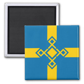 Sweden Rune Cross Magnet