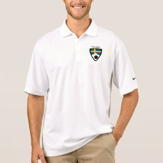 Sweden Soccer Polo Shirt