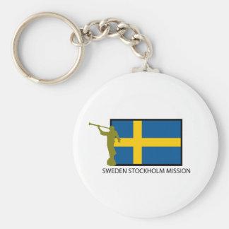 SWEDEN STOCKHOLM MISSION LDS CTR KEY RING
