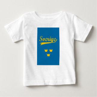 Sweden, Sverige, 3 crowns Baby T-Shirt