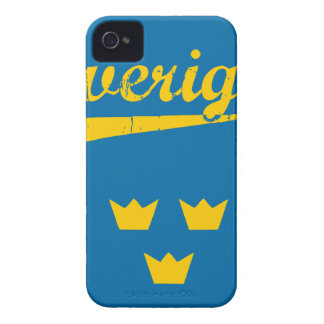 Sweden, Sverige, 3 crowns iPhone 4 Covers