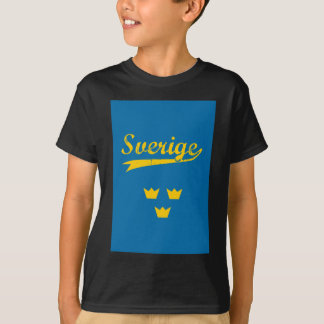 Sweden, Sverige, 3 crowns T-Shirt
