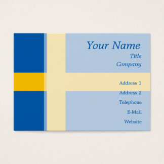 Sweden - Swedish Flag Business Card