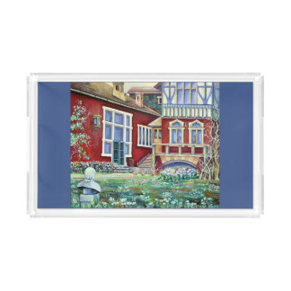 Sweden, Traditional Landscape Acrylic Tray