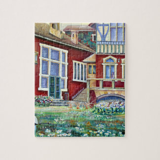 Sweden, Traditional Landscape Jigsaw Puzzle
