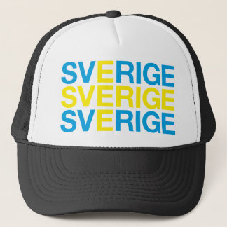 SWEDEN TRUCKER HAT