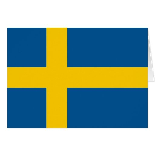 Sweden's Flag Cards