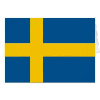 Sweden's Flag Note Card