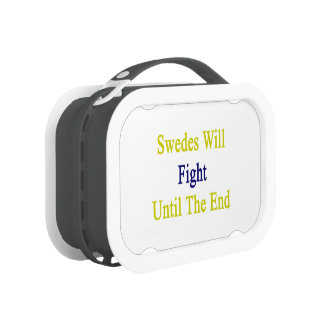 Swedes Will Fight Until The End Lunchbox