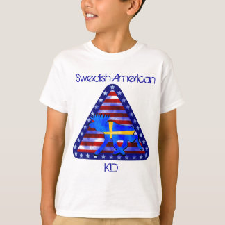 Swedish-American Moose T-Shirt