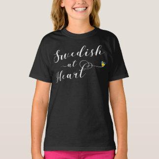 Swedish At Heart Tee Shirt, Sweden
