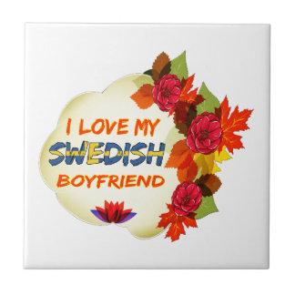 Swedish Boyfriend Design Ceramic Tile