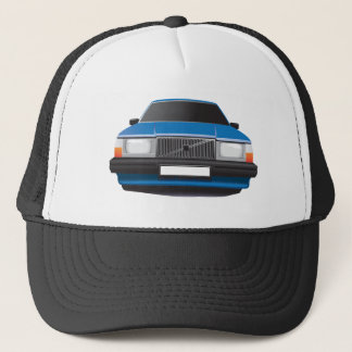 Swedish car trucker hat