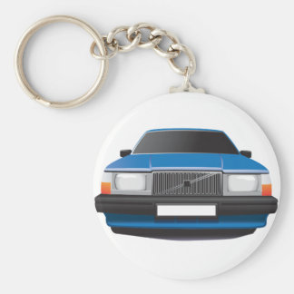 Swedish Classic Car from 80's - 90's Key Ring