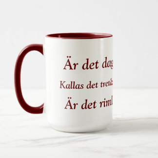 Swedish Coffee Mug