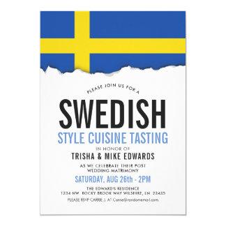 Swedish Cuisine | Party Flag Invite