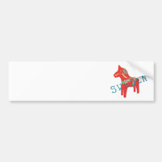 Swedish Dala Horse gifts & greetings Bumper Sticker
