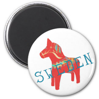 Swedish Dala Horse gifts & greetings Magnet