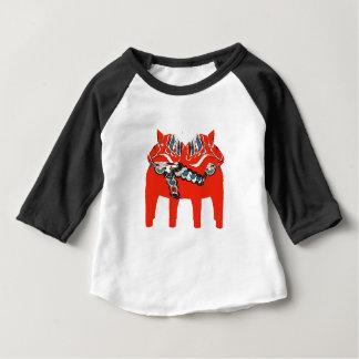 Swedish Dala Horses Apparel and Gifts Baby T-Shirt