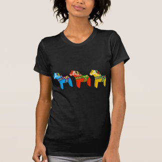 Swedish Dala Horses T-Shirt