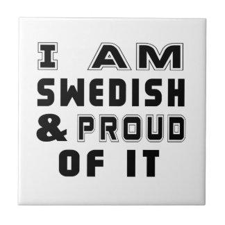 SWEDISH DESIGNS SMALL SQUARE TILE