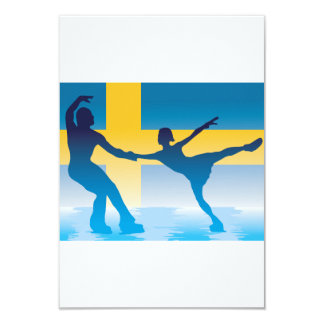 Swedish Figure Skaters Invitations