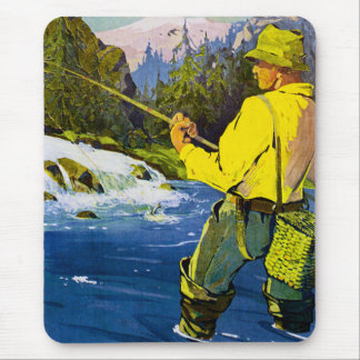 Swedish Fisherman Mouse Pad