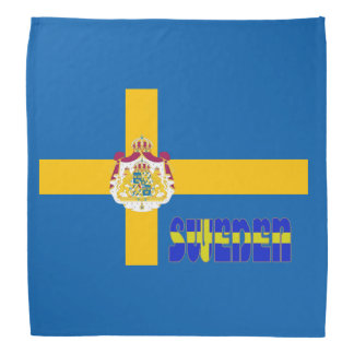 Swedish flag bandana