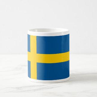 Swedish Flag Basic White Mug