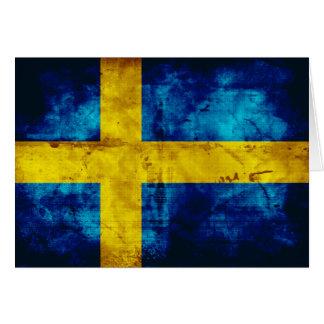 Swedish Flag Note Card