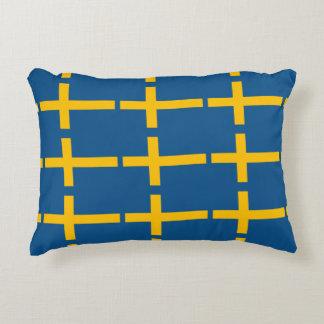 Swedish Flag Decorative Cushion