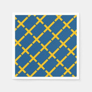 Swedish Flag Disposable Serviette